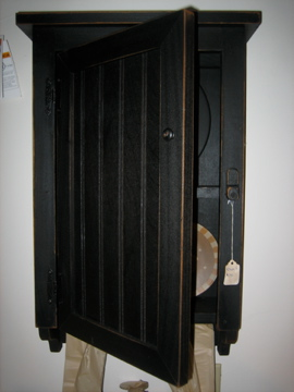 black wall cabinet with peg rack this is a brand new distressed black