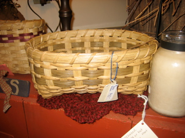 Handmade in NH bread basket