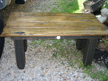 Rustic Primitive Table Handmade