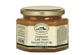 Champagne Garlic Honey Mustard Pretzel Dip