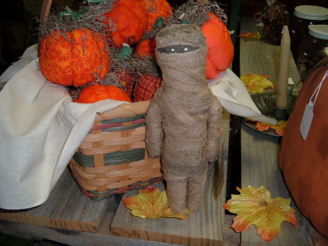Handmade Lil Spooky Mummys!