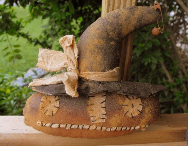 Pumpkin Witch - Handmade