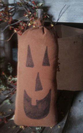 Handmade Grinning Jack Pumpkin
