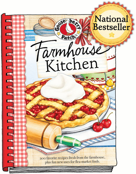 Farmhouse Kitchen Gooseberry Patch Cookbook