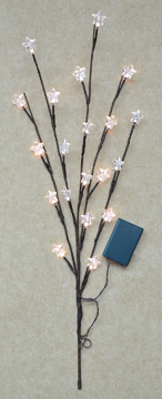 Star LED Willow Branch