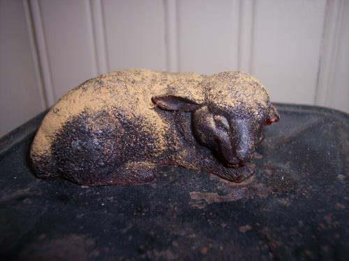 Sleeping Lamb Soap Handmade