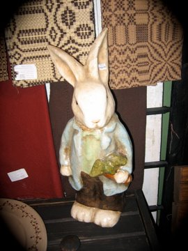 Large papermache bunny