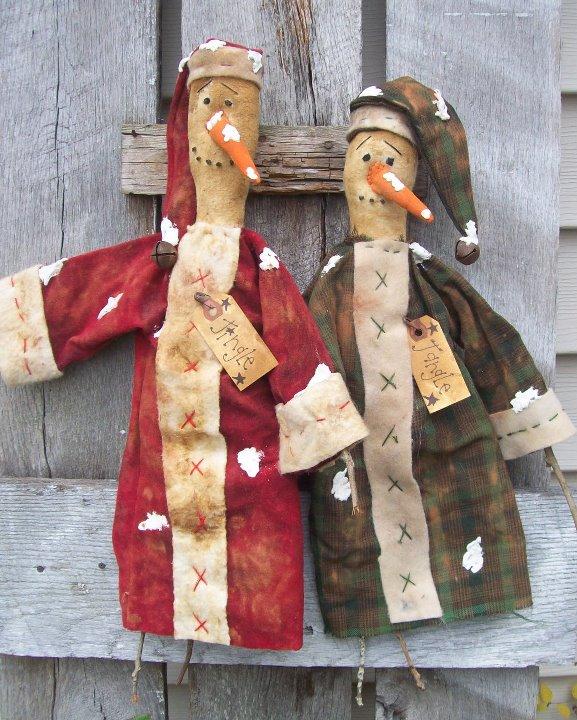 Handmade Jingle & Jangle Snowman