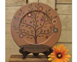Primitive Poppy Plate
