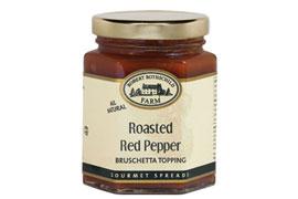 Roasted Red Pepper Bruschetta Topping