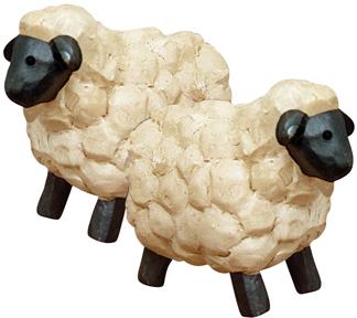 Mini Resin Sheep Set of 4