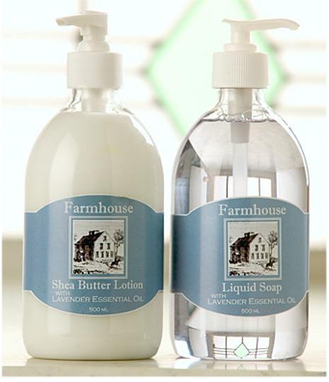 Shea Butter Lotion & Liquid Soap
