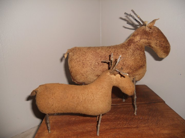Handmade Baby Deer or Reindeer