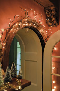 Willow Twig Electric Garland SIZE 6' Long, 96 Lights