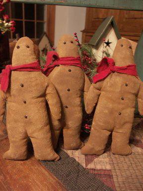 Gingerbread Guys - Handmade