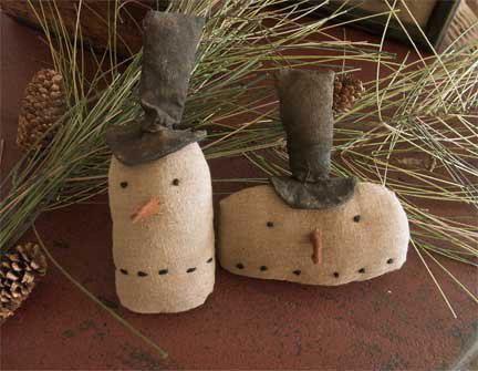 Snowman Ornaments - Handmade