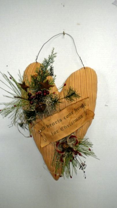All Hearts Come Home For Christmas - Handmade
