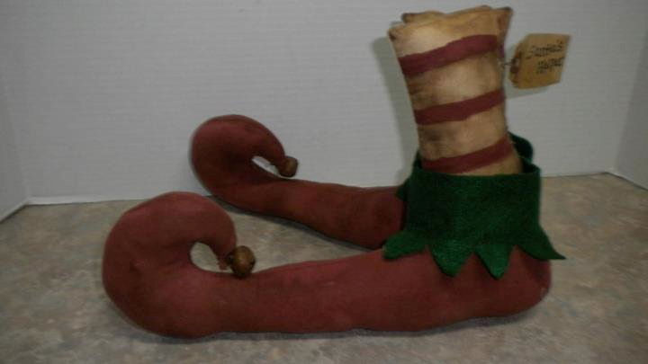 Elf Boots - Handmade